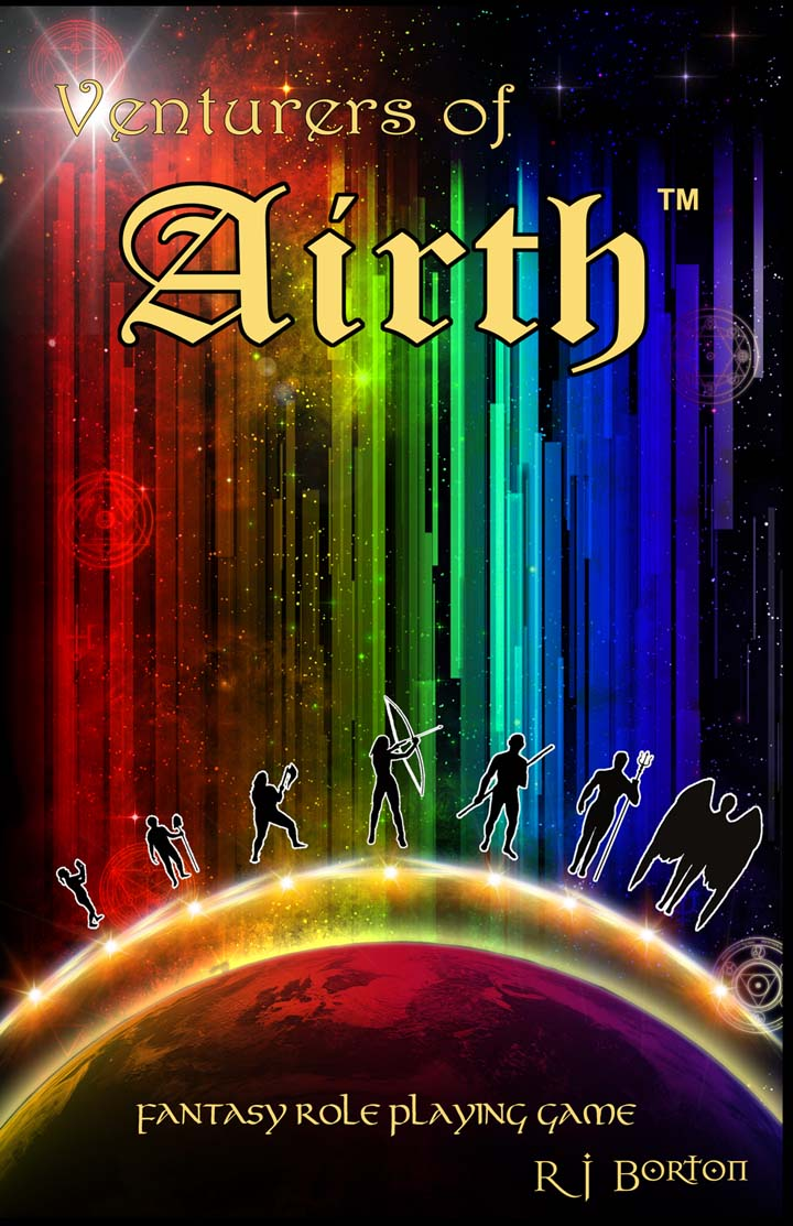 Venturers of Airth (TM) - game cover