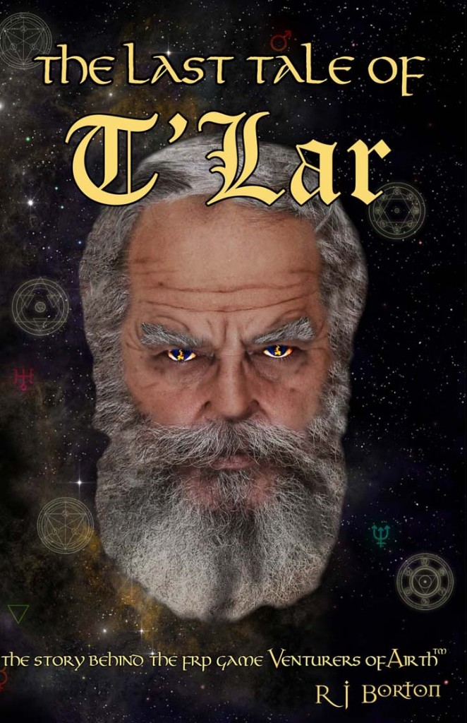 Venturers of Airth® Last Tale of T'Lar - front cover